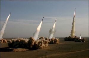 """فیلم/ توجه فرماندهان آمریکایی به """"تیربار موشکی ایران"""""""