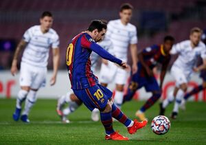 برد ارزشمند بارسلونا با درخشش لیونل مسی