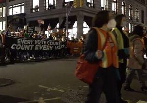 تظاهرات در شیکاگو، اوهایو، نیویورک و ماساچوست علیه ترامپ