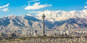 کاهش ۶ درجهای دمای هوای استان تهران
