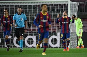 برد سخت بارسلونا و شکست پاریسن ژرمن در شب برتری مدعیان
