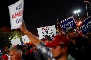 فیلم/ درگیریهای انتخاباتی در خیابانهای آمریکا