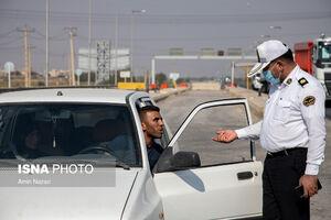 عکس/ طرح ممنوعیت ورود و خروج خودروها در اهواز