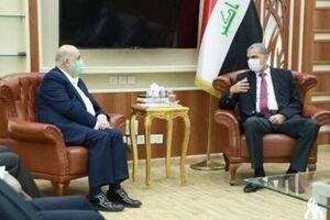 رایزنی هیأت ایرانی و وزیر عراقی درباره مسائل امنیتی