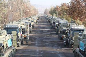 اعزام تجهیزات زرهی ارتش به مرزهای شمال غرب کشور