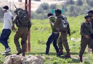 بازداشت ۴۵۰ فلسطینی در یک ماه اخیر