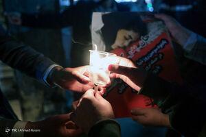 عکس/ همدردی دانشجویان مشهدی با مردم افغانستان