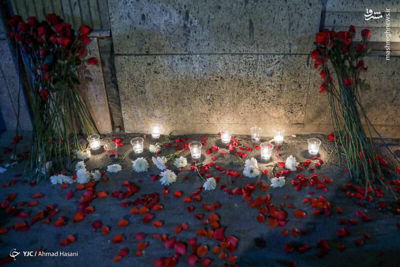 2969216 - عکس/ همدردی دانشجویان مشهدی با مردم افغانستان