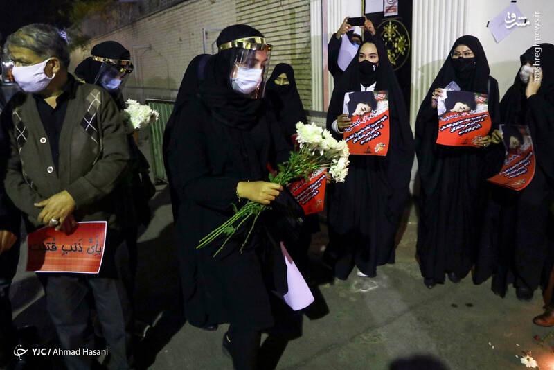 2969227 - عکس/ همدردی دانشجویان مشهدی با مردم افغانستان