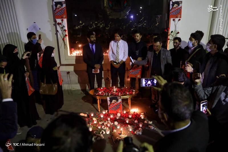 2969228 - عکس/ همدردی دانشجویان مشهدی با مردم افغانستان