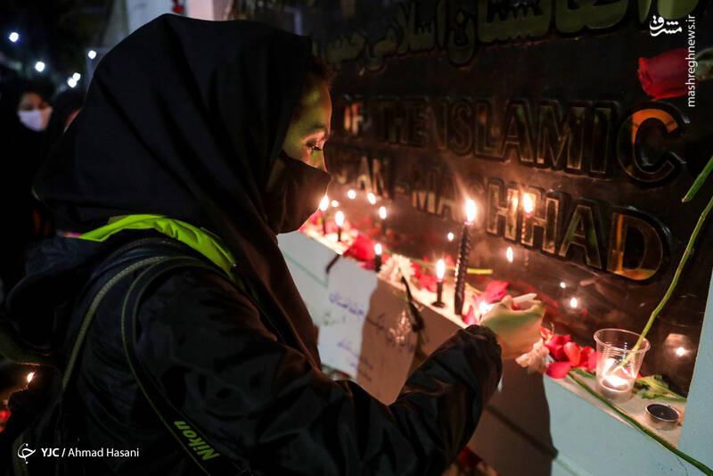 2969231 - عکس/ همدردی دانشجویان مشهدی با مردم افغانستان