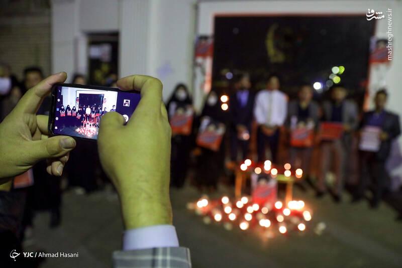 2969232 - عکس/ همدردی دانشجویان مشهدی با مردم افغانستان