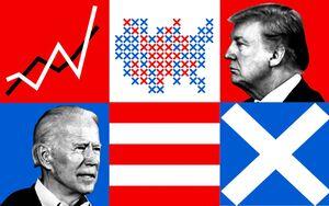 نیمه برافراشته شدن پرچم آمریکا در دنیای امروز