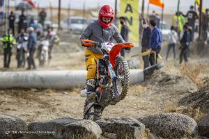 عکس/ مسابقات موتور سواری سوپر اندرو در همدان