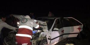 تصادف پژو پارس و وانت در بیلهسوار/ ده نفر مصدوم شدند+ عکس