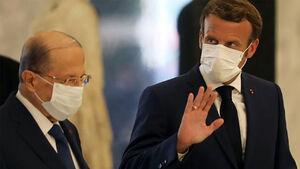 مکرون: لبنان سریعتر برای تشکیل کابینه الحریری اقدام کند