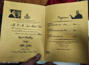 تصاویر/ کارت عروسی کشمیری