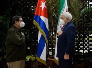 دیدار  ظریف با وزیرامورخارجه کوبا