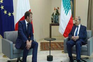 رایزنی «عون» و «ماکرون» درباره تشکیل دولت لبنان