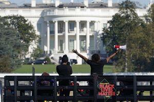 عکس/ تب و تاب انتخابات در خیابانهای آمریکا