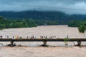 عکس/ طوفان «اِتا» هندوراس و نیکاراگوئه را در نوردید