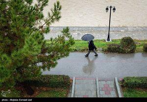 فیلم/ بارش شدید باران در کرج