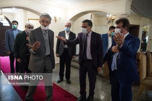 حضور حدادعادل در سفارت افغانستان برای ابراز همدردی