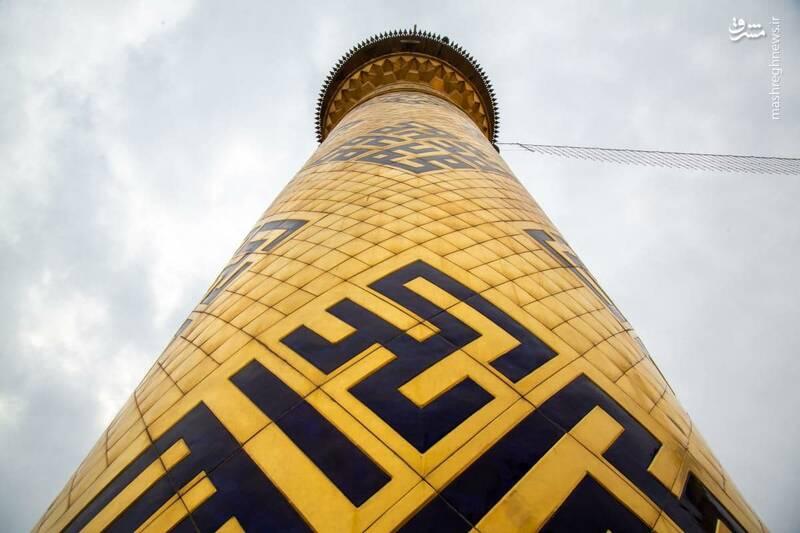 2970565 - عکس/ شست و شوی گنبد حرم مطهر حضرت عباس(ع)