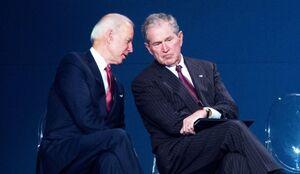 جورج بوش به بایدن تبریک گفت