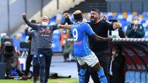 ناپولی به رتبه سوم لیگ ایتالیا رسید