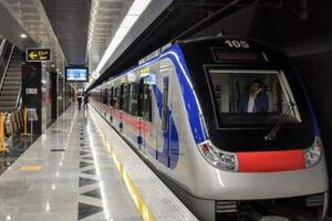 ببینید | ریزش سقف تونل در حال ساخت مترو در بلوار قیام