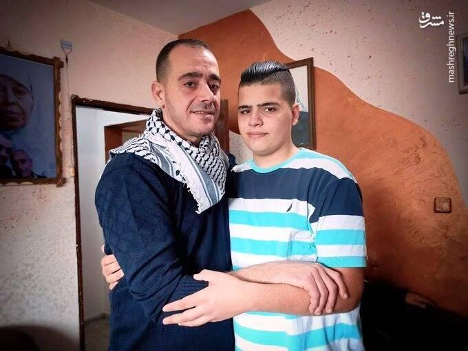 نخستین دیدار«عبدالرئوف قعدان» با فرزندش، پس از 16 سال