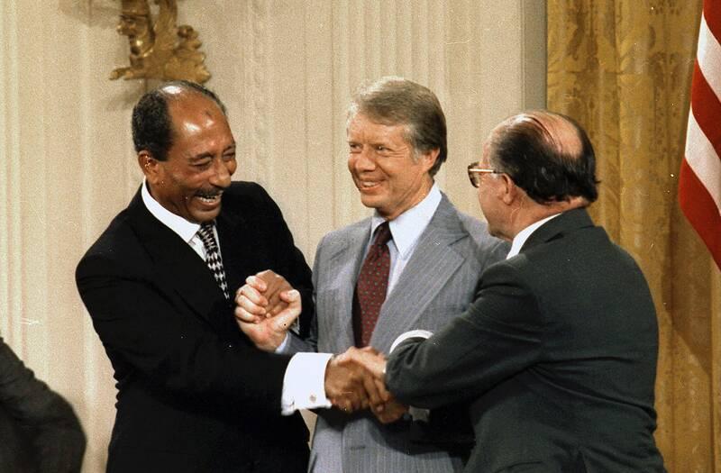 طرح صلح اعراب با اسراییل را چه کسی کلید زد؟