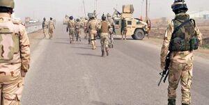 نیروهای داعش در شرق عراق به رگبار بسته شدند