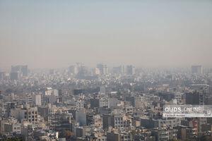 عکس/ آلودگی هوای مشهد