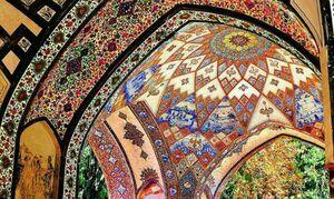 تصویری از هنر معماری ایرانی