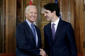 نخست وزیر کانادا و بایدن تحولات بینالمللی رو بررسی کردند