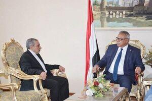 رایزنی سفیر ایران و نخستوزیر یمن درباره روابط دو جانبه