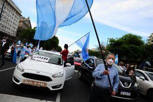 عکس/ مردم آرژانتین علیه دولت
