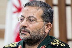 رئیس سازمان بسیج مستضعفین سردار غلامرضا سلیمانی