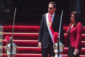 رئیس جمهور فاسد پرو برکنار شد