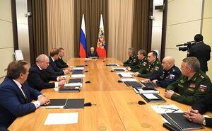 پوتین : روسیه نیروی هستهای خود را نوسازی می کند