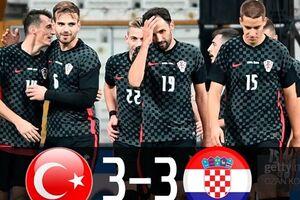 تساوی پرگل ترکیه مقابل نایب قهرمان جام جهانی