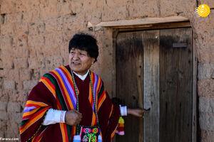 عکس/ استقبال دیدنی از مورالس بعد بازگشت از تبعید