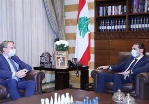 لبنان|دیدار فرستاده ماکرون با سعد الحریری