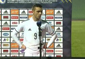 انتقاد شدید بازیکن بوسنی از همتیمیهایش: تیم ما نیاز به قلب دارد
