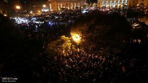 ادامه اعتراض ارمنیها به توافق صلح قرهباغ