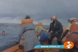 غرق شدن دو قایق پناهجویان با ۱۰۰ کشته +فیلم