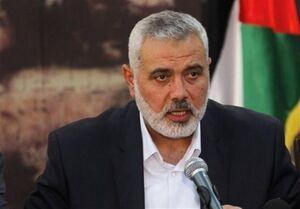 تاکید هنیه بر گرفتن انتقام خون اسیر فلسطینی از اشغالگران قدس