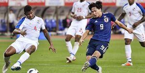 دیدار دوستانه ملی فوتبال| پیروزی ژاپن مقابل پاناما